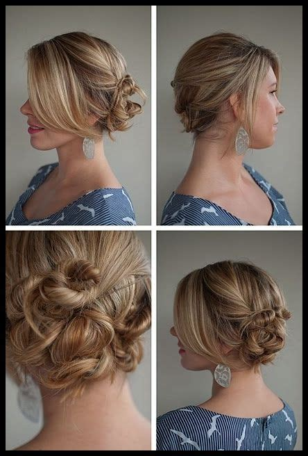 ideas  easy casual hairstyles  pinterest