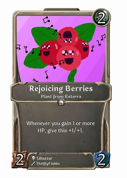 Card Rejoicing Berries Week
