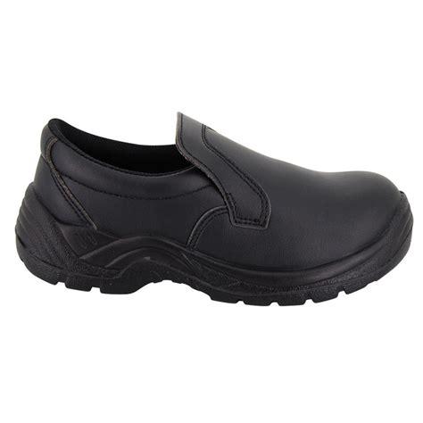 chaussure de cuisine noir chaussure de cuisine forme mocassin de sécurité