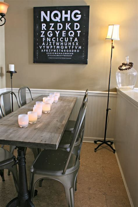 narrow dining room tables home  gardening