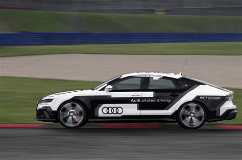 Audi Says Rs7 Piloted Driving Concept Is The Sportiest