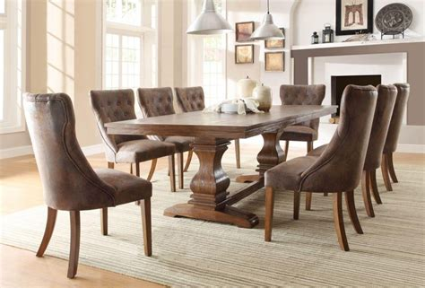 + Dining Tables And Fabric Chairs