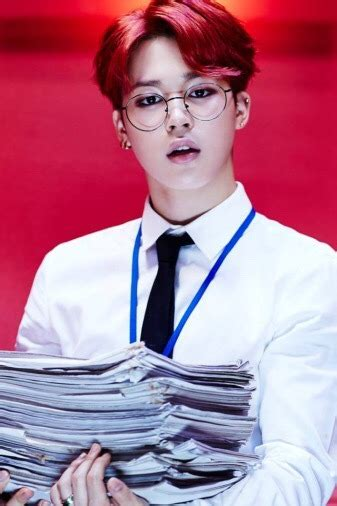 red haired jimin tumblr