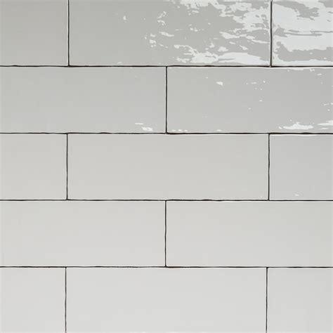 subway tiles white handmade white gloss natura wall subway tiles 396 215 130 in stretcher bond design eco tile factory