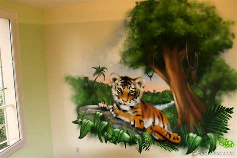 chambre de bébé jungle chambre jungle