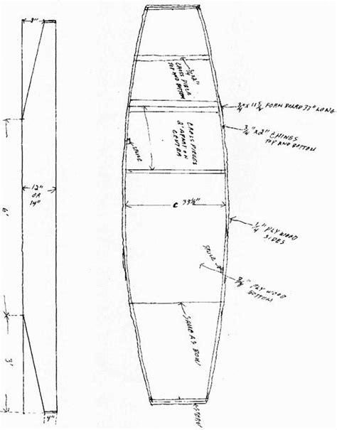 Wooden Punt Boat Plans by Sneak Boat Plans Free Sailing Build Plan