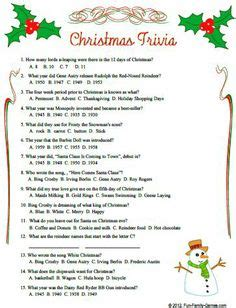 1000+ Images About December On Pinterest  Christmas Quiz Questions, Employee Appreciation Gifts