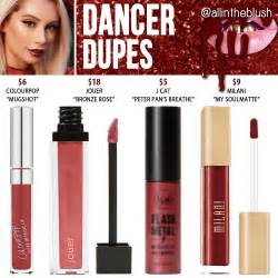 kylie cosmetics dancer lipstick dupes holiday collection