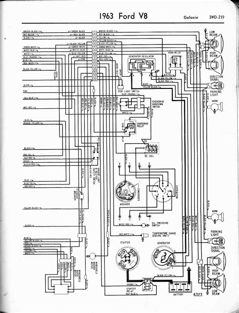 1966 Ford Galaxie Ignition Wiring Diagram by 57 65 Ford Wiring Diagrams