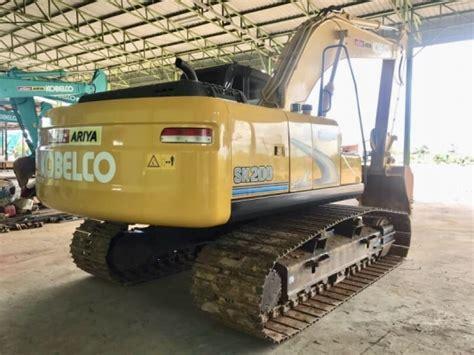 ขาย Kobelco sk200-8 Super xm สีเหลืองตัวสุดท้ายก่อนขึ้น ...