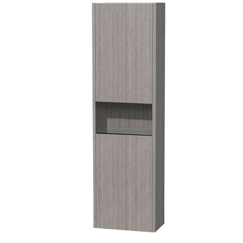 grey bathroom wall cabinet diana grey oak wall cabinet zbathroomgallery