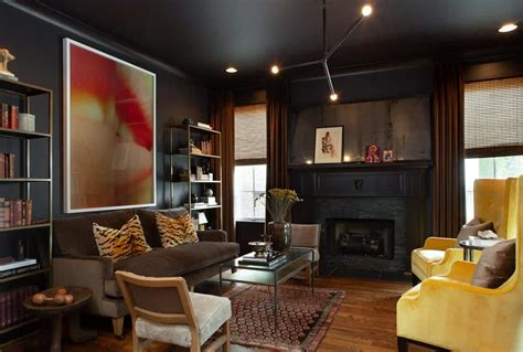 black living room ideas forced   rethink  design