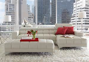 sofia vergara sybella off white 5pc sectional living room