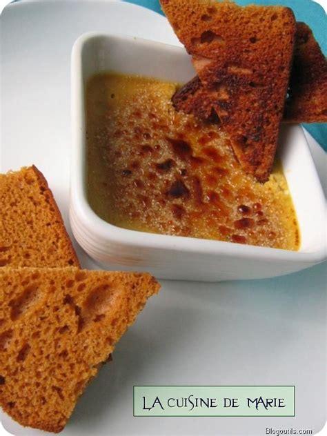 Cr Me Brul E Au Foie Gras Marmiton cr 232 me br 251 l 233 e au foie gras et figues la cuisine de