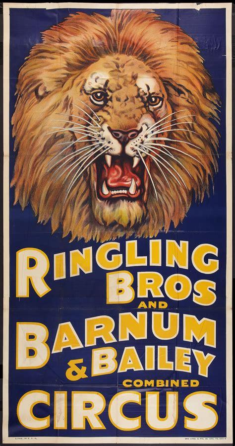 Ringling Bros Circus Poster #typehunter | Vintage circus ...