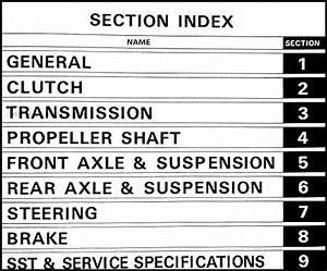 1980 Toyota Corolla Chassis Repair Shop Manual Original No