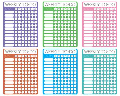 home design checklist dotty printable weekly to do checklists free printable