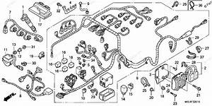 Honda Motorcycle 2006 Oem Parts Diagram For Wire Harness  2