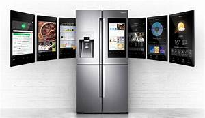 Samsung Smart Home : samsung 39 s smart fridge wants to control your connected home trusted reviews ~ Buech-reservation.com Haus und Dekorationen