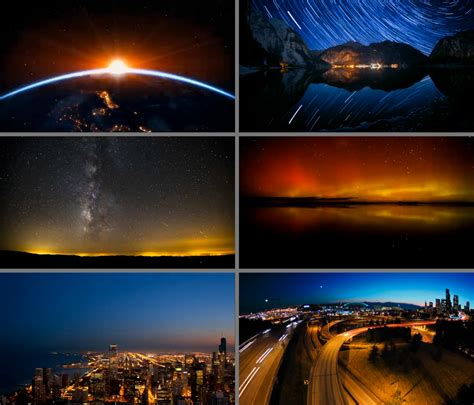Into The Night Photography Time Lapse Clips Used