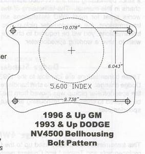 Nv4500 Bolt Pattern Template