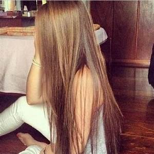 Brown To Light Brown Ombre Hair For Long Straight Hair ...