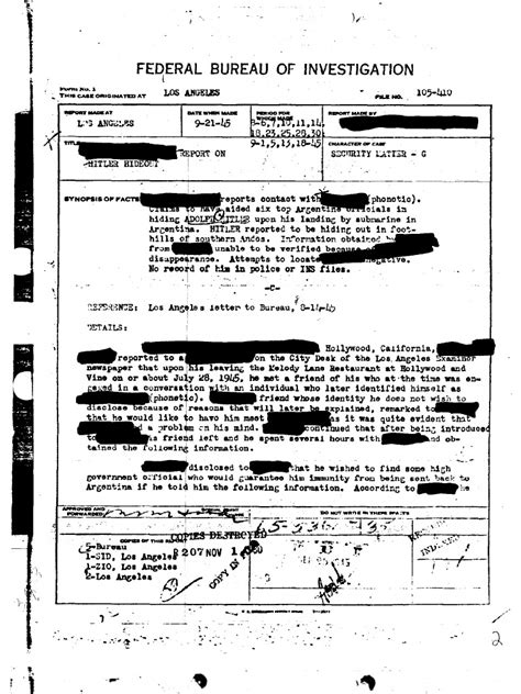 One tried to smuggle jewelry into the u.s. Hitler FBI Dossier