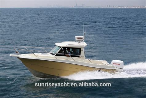 Small Cabin Fishing Boats For Sale by Oceania 23wa Small Closed Cabin Fiberglass Boat Fishing