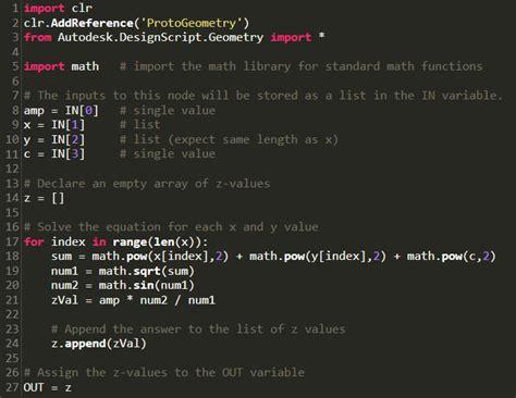 Import Math Ceil Python by Math Transit Dynamo Bim