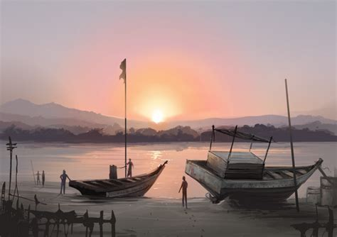 ➪ Whole Landscape Painting In Krita : Digital Painting