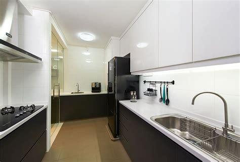 3 room hdb kitchen renovation design hdb interior design kitchen kitchen small 8981