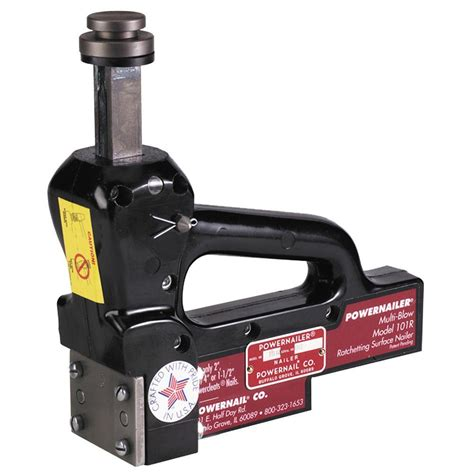 Hardwood Floor Nailer Home Depot by Powernail 16 Manual Hardwood Floor Ratcheting