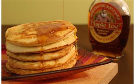 cuisine canadienne recette les pancakes comme au canada notée 4 5