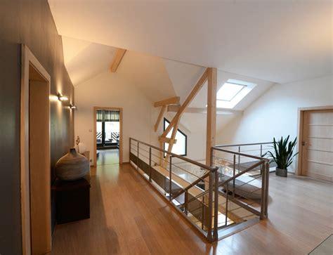 maison d 39 architecte bois avec charpente apparente nos