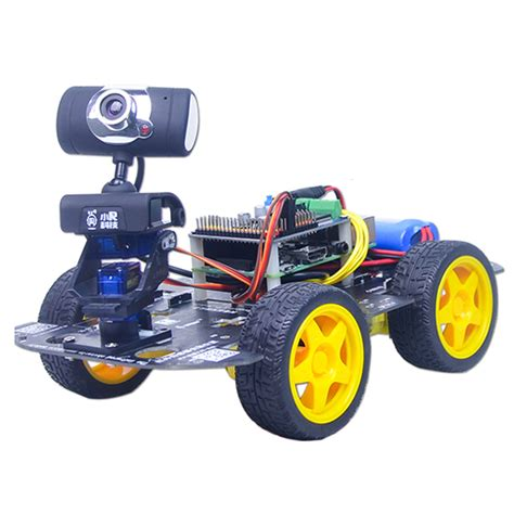 xiao r gfs diy smart robot wifi car with gimbal raspberry pi 3 board