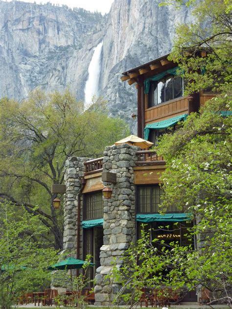 Ahwahnee Hotel Yosemite Falls National Park