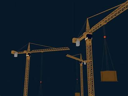 Animation Industrial Cranes Crane Animated Stunning Examples