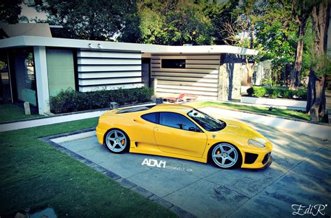 Modified ferrari 360 tunnel runs, revs and accelerations! Ferrari 360 Modena custom wheels ADV.1 5 Track Spec 20x8.5, ET , tire size / R20. 20x12.0 ET