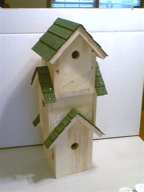 Triple Birdhouse Made From Recycled Pallet Wood Diy