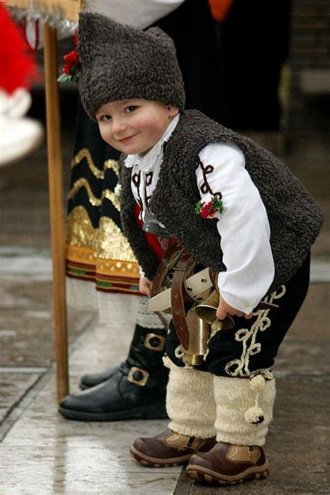 traditional children and bulgarian on