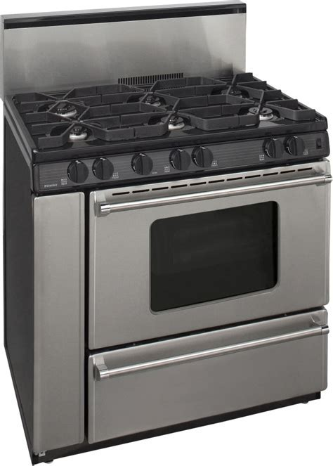 Premier P36S3282P 36 Inch Freestanding Gas Range with 6