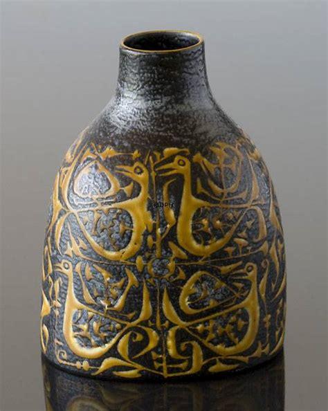 royal copenhagen vases faience vase royal copenhagen no r714 3223 f dph trading