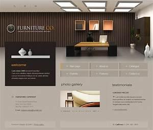 Furniture Website Template 17490