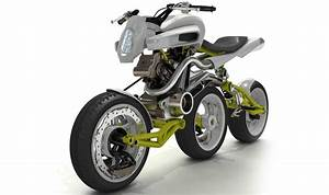 Innovative Three Wheeled Motorcycle Concept The Roller