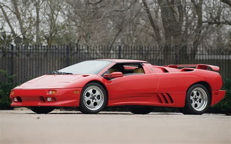 lamborghini diablo vt roadster  wallpapers