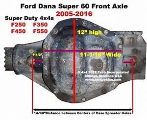 Id Dana Super 60 Front Axles