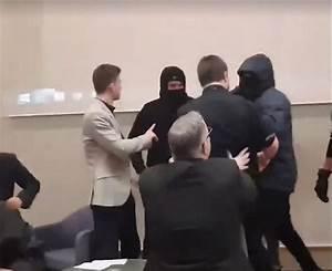 Masked protesters halt campus event featuring Israeli ...