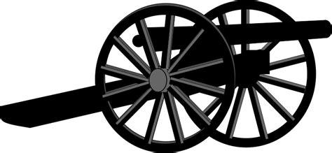 Cannon Clip Clipart Civil War Cannon