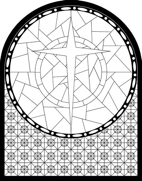 church window coloring pages coloring home