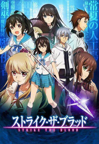 anime strike strike the blood anime planet
